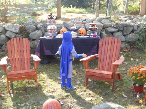 Inspiration Senses - Outdoor Halloween Celebration