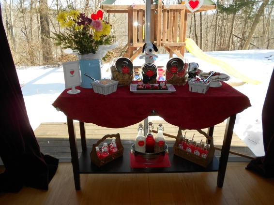 Inspiration Senses - Snoopy Valentine's Day with Cookies and Milk