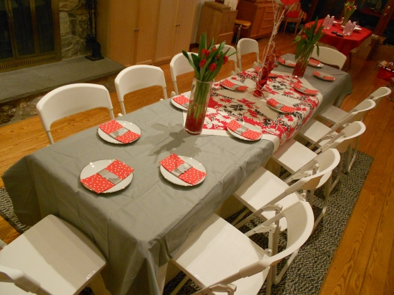 Inspiration Senses - Elephant-Styled Baby Shower and House Warming - Table