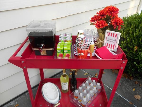 Halloween Carnival - Drink Cart