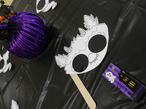 Scooby Doo Halloween Party Monster Mask Craft
