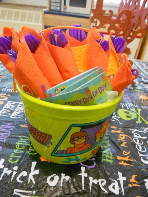 Scooby Doo Halloween Party - Dinnerware