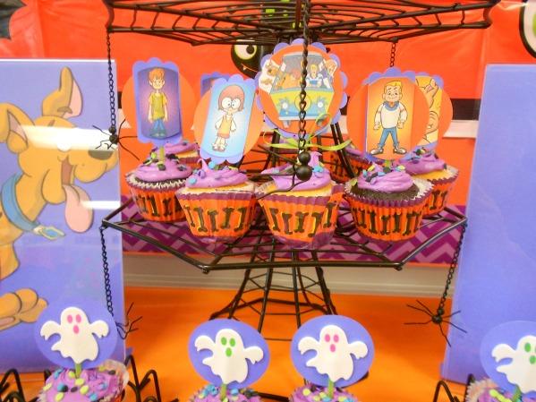 Scooby Doo Halloween Party - Cupcakes