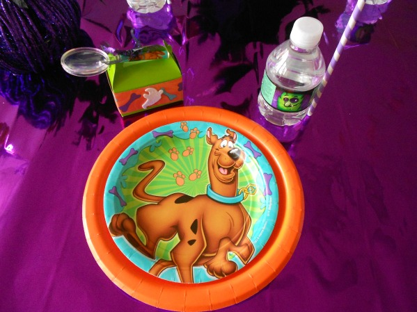Scooby Doo Halloween Party - Table Setting