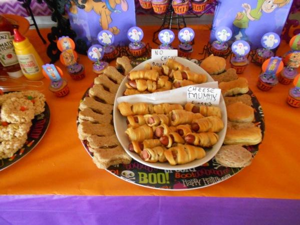 Scooby Doo Halloween Party - Food