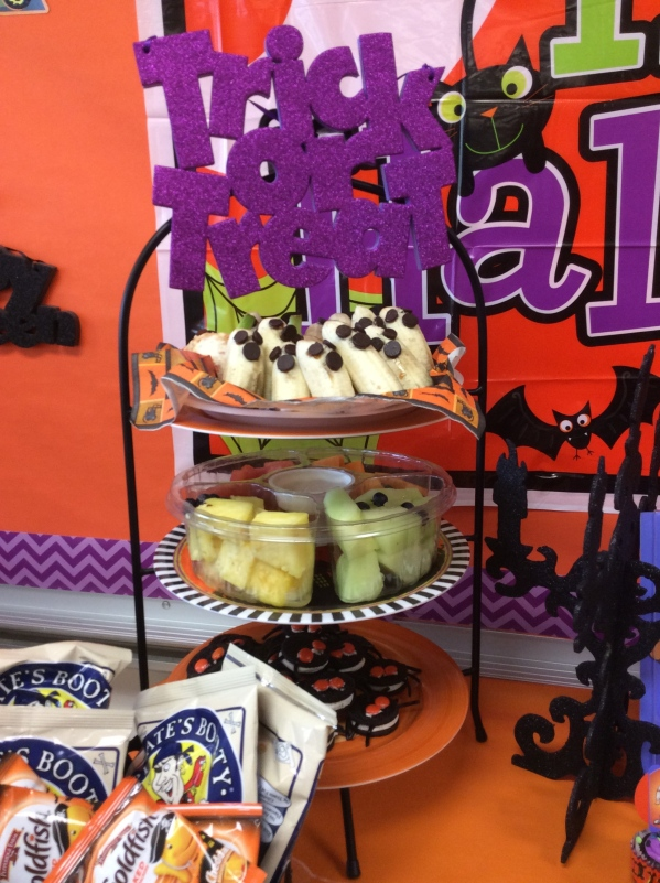 Scooby Doo Halloween Party treats