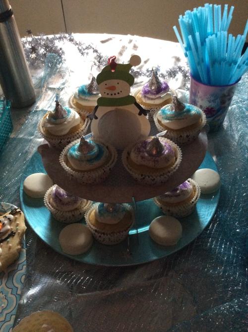Inspiration Senses - Frozen Party - Cupcakes