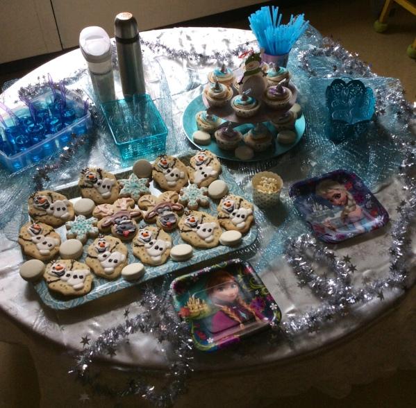 Inspiration Senses - Frozen Party