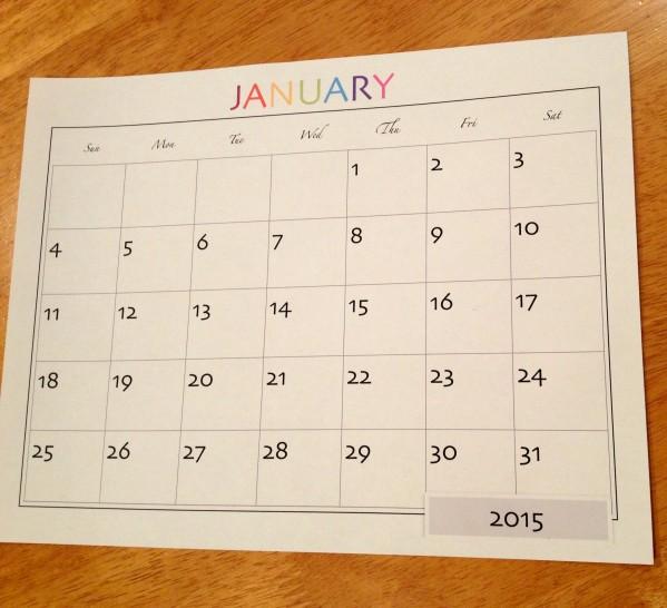 Inspiration Senses - Calendar 2015