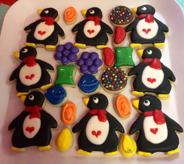 Inspiration Senses - Valentine Candy Crush - Cookies by Little Birdie Parties