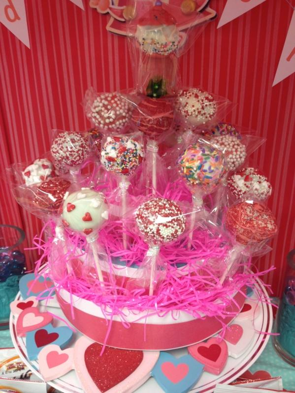 Inspiration Senses - Valentine Candy Crush - Cake Pops