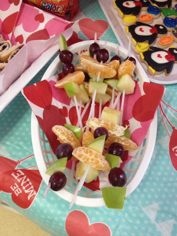 Inspiration Senses - Valentine Candy Crush - Fruit Skewers by Little Birdie Parties