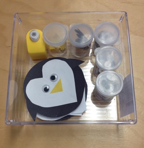 Inspiration Senses - Valentine Candy Crush - Penguin craft