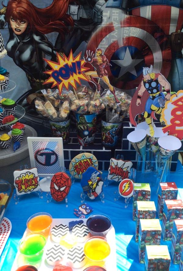 Avengers Party treats