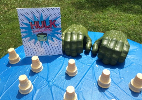Avengers Birthday Party - Hulk Smash Game