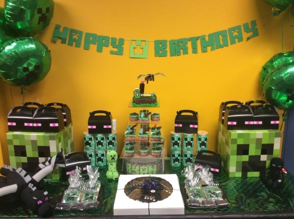 Inspiration Senses - Minecraft Birthday Party